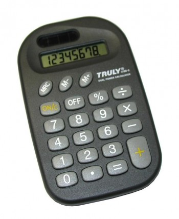 CALCULADORA TRULY  8 DIGITOS MINI